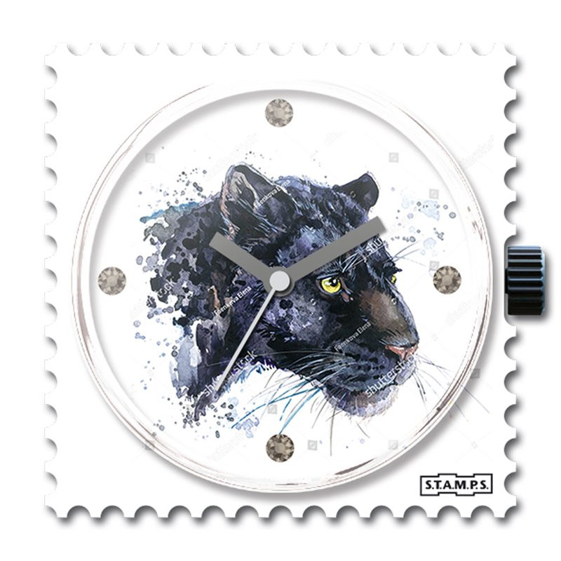 Cadran Panther swarovski
